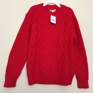 Crewcuts Girl's Cable-Heart Sweater